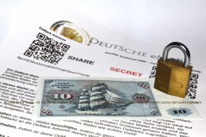 Bitcoin & Altcoin Safety, DEM Deutsche E-Mark: Paper Wallets, ©2016 Mark Mage, All rghts reserved.
